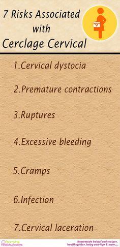 7 Risks of Having a Cerclage Cervical Placed!  #cerclage #pregnancy
