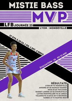 Mistie Bass - MVP Etrangère - LFB Journée #23