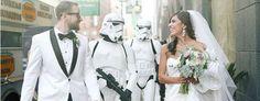 Noivos fazem casamento baseado em Star Wars; Confira o resultado | Notícias | Filmow