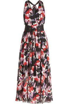 MARC JACOBS - Printed Silk Chiffon Dress   STYLEBOP