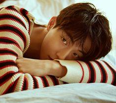 Thinking of drawing this Nam Joo Hyuk Smile, Nam Joo Hyuk Lee Sung Kyung, Jong Hyuk, Asian Celebrities, Asian Actors, Korean Actors, Joon Hyung, Park Hyung Sik, Sehun