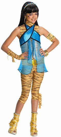 Children's Monster High Cleo de Nile Girl's Costume