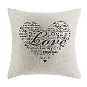 cotone / lino amore coperchio decorativo cusc... – EUR € 12.37