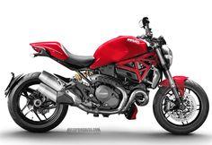 DUCATI Monster 1200 2015 http://www.motoprogress.com/