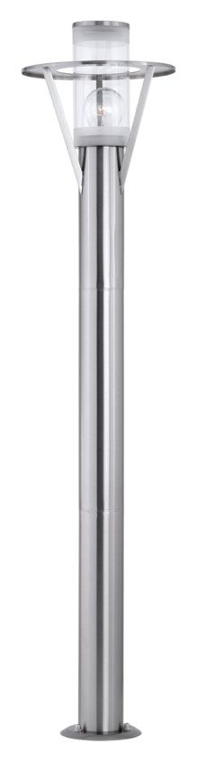 EGLO 88117A Belfast 39 Inch Tall Stainless Steel Finish Contemporary Path Lighting - EGL-88117A