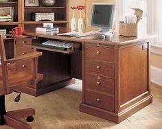 Thomasville furniture workstyles Double Pedestal Desk   50841-630