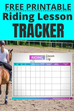 This is a quick way to jot down notes about your horse riding lessons. Get  the most out of your riding lessons. See patterns in your riding. Look  back and see the progress you made. Go to post for more information and  to get your free Riding Lesson Log Tracker. #horsebackriding #horseridingprintable #horseprintable #ridinglessons Horse Training, Training Tips, Horse Behavior, Horseback Riding Lessons, Buy A Horse, Horse Riding Tips, Sign Up Page, Cool Journals, Confidence Building