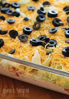 Dig into this quick and easy taco dip for any summer party.