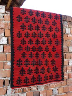 Antique 1910s Rustic Red Rug, Balkan kilim rug, Vintage old rug, Kilim wall handing, Red black area rug, Vintage Woven rug, Woven tribal rug Antique rustic red rug Chiprovtsi hand made wool carpets with naturally colored fibers and unique patterns.. This hand woven rug is made using