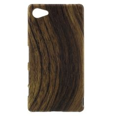 Phone Cases for Sony Compact Xperia Z5 Wood Pattern Hard Case Back Cover