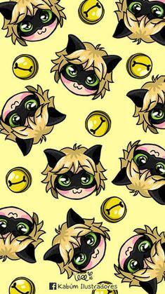 my phone wallpaper lol :D Chat Noir Ladybug E Catnoir, Ladybug Comics, Mlb Wallpaper, Disney Wallpaper, Les Miraculous, Miraculous Ladybug Wallpaper, Miraculous Ladybug Fan Art, Cute Wallpapers, Kawaii Anime