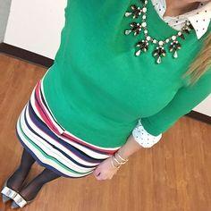 Stripes and polka dots Follow me on Instagram @saramathews