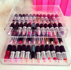 ✨Mac Lipsticks in Muji Storage✨