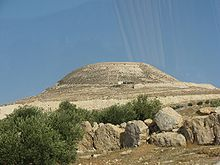 """In 40 BCE, after the Parthian conquest of Syria, Herod fled to Masada. On the way, at the location of Herodion, Herod clashed with the Parthians and emerged victorious. According to the Roman Jewish historian Josephus, he """"built a town on that spot in commemoration of his victory, and enhanced it with wonderful palaces... and he called it Herodion after himself"""" (The Wars of the Jews I, Chapter 13).[5]"""