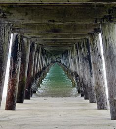 Pier spective Photograph - Kami McKeon