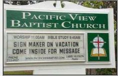 Image detail for -18 Hilarius Church Billboards amazing odd interesting funny church17 ...