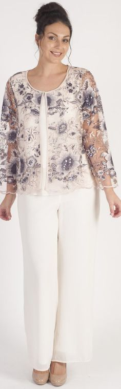 Sheer jacket with long sleeves for party or wedding. Learn more at pic.