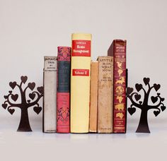 The Love Tree Exclusive Metal Book-ends are now available from Neat Freak. Gorgeous metal book-ends that will add pizazz to your bookshelf.