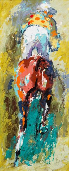 * LeRoy Neiman, (American, 1921-2012), Horse and Jockey | Post War and Contemporary Art | May 24, 2016 in Chicago