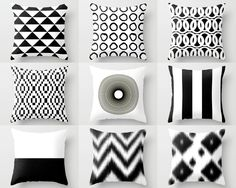Throw Pillow Covers Black White Couch Cushion Cover Contemporary Home Decor Living Room Pillow Decorative Pillow Decorative Pillows : Throw Pillow Covers Black White Couch Cushion Cover Couch Cushion Covers, Couch Cushions, Throw Pillow Covers, Gold Pillows, Diy Pillows, Throw Pillows, Cheap Decorative Pillows, Decorative Pillow Cases, Living Room Pillows