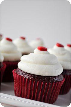 Skinny Red Velvet Cupcakes | Red Velvet Cupcakes, Velvet Cupcakes and ...