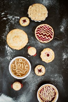 Pie crust toppers: http://www.stylemepretty.com/living/2013/11/27/8-unique-pie-crust-toppers/ | Photography: White Loft Studio - http://whiteloftstudio.com/