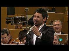 """Miguel Poveda y la ONE """"A Ciegas"""" - Auditorio Nacional de Madrid - 12.06.2010"""