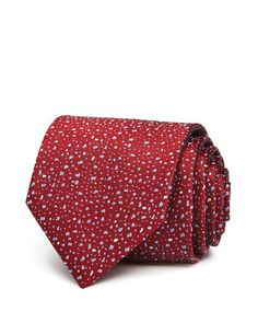 Lanvin Speckled Classic Tie