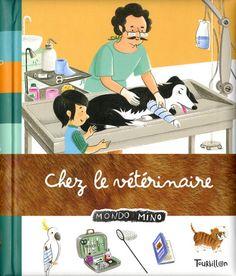 Dans la salle d'attente de monsieur Nicolo, Nina rassure Noisette, son chaton qui tremble dans sa boite. Quand à Rémi, il s'interroge sur les maladies qui ont amenées ces animaux jusque là.