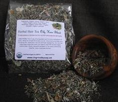 Hair Tea for dry itchy scalp Oily Hair Remedies, Dry Itchy Scalp, Soften Hair, Hair Rinse, Natural Haircare, Tea Blends, How To Dry Basil, Things That Bounce, Herbalism