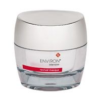 Environ Intensive Revival Masque. A unique combination of AHA's assist in lightening the appearance of pigmented marks, diminishing fine lines, giving a tighter, smoother look to the skin. Skin will look younger, rejuvenated and radiant. Use daily or on alternative days for 20 minutes or overnight. Great gift! Free shipping Pure Skin Care Salon.