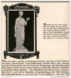 Original-Werbung/Inserat/ Anzeige 1912 - BIOMALZ - ca. 190 X 210 mm
