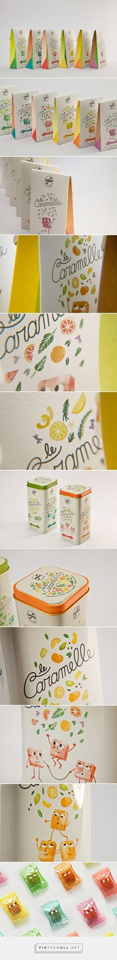 Sabadì – Le Caramelle candies packaging by Happycentro