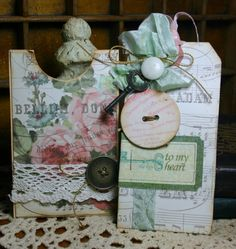 Shabby Chic Love Any Occasion Card
