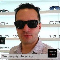 Sezon w pełni, myślimy o okularach przeciwsłonecznych 8-) Czy wiecie, że można mieć okulary przeciwsłoneczne z korekcją? Takie właśnie #okulary sprawił sobie Pan Krzysztof. Oprawa #Jaguar i przeciwsłoneczne szkła korekcyjne. Pozdrawiamy Pana Krzysztofa. #okularyprzeciwsłoneczne #optyk