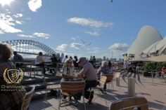 A beautiful spot to enjoy a beer and view the Opera house and the harbour bridge, Sydney Australia http://chicvoyagetravel.com/living-like-a-local-in-sydney/