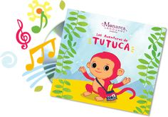 Las Aventuras de Tutuca - Spanish Music for Niños | Monarca Language - Pre-K to Kindergarten Spanish Educational Materials