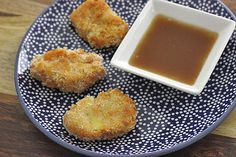 Sweet Potato Nuggets with Apple Cider Dipping Sauce // Just made these last week--this time I added cinnamon to the sauce. So yummy!