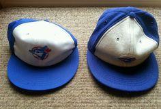 Pair of Vintage Toronto blue jays baseball hats size large #TorontoBlueJays