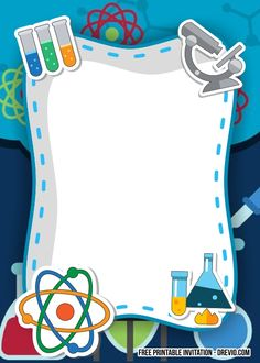 Get FREE Science Party Birthday Invitation Templates Science Background, Kids Background, Powerpoint Background Design, Science Party, Science For Kids, Summer Science, Preschool Science, Elementary Science, Science Classroom