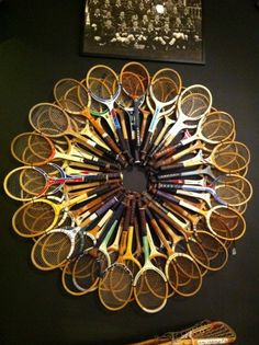 Hard to tell what's more impressive; the creativity or the collection itself. #tennis