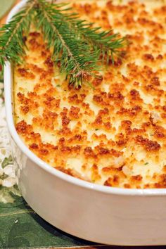 Baked Mashed Potato Casserole with Sour Cream and Chives | Feastie
