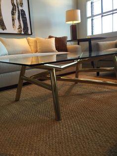 High Point Market Favorite Finds! Century Furniture cocktail  table. Spotted by HPMKT Style Spotter Laura Umansky Elite Furniture Gallery www.elitefurnituregallery.com 843.449.3588 Nationwide Delivery
