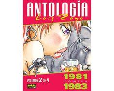 CATALONIA COMICS: ANTOLOGÍA LUIS ROYO CÓMICS 1981-1983 VOLUMEN 2
