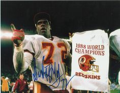 Dexter Manley Washington Redskins Autographed 8x10 Photo -Super Bowl Win- Arena Football, Redskins Football, Redskins Fans, Football Fans, Nfc East Division, Electric Football, Super Bowl Wins, Nfl Championships, Football Conference