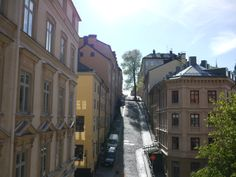 Exploring Södermalm, one of Stockholm's main islands.