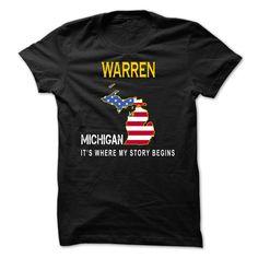 WARREN - Its Where My Story Begins T-Shirts, Hoodies, Sweaters