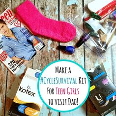 Make A DIY Period Kit For Your Teen Daughter