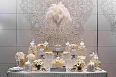 ISES White Candy Buffet