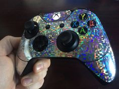 Hey, I found this really awesome Etsy listing at https://www.etsy.com/listing/216743883/holographic-xbox-one-controller-skin